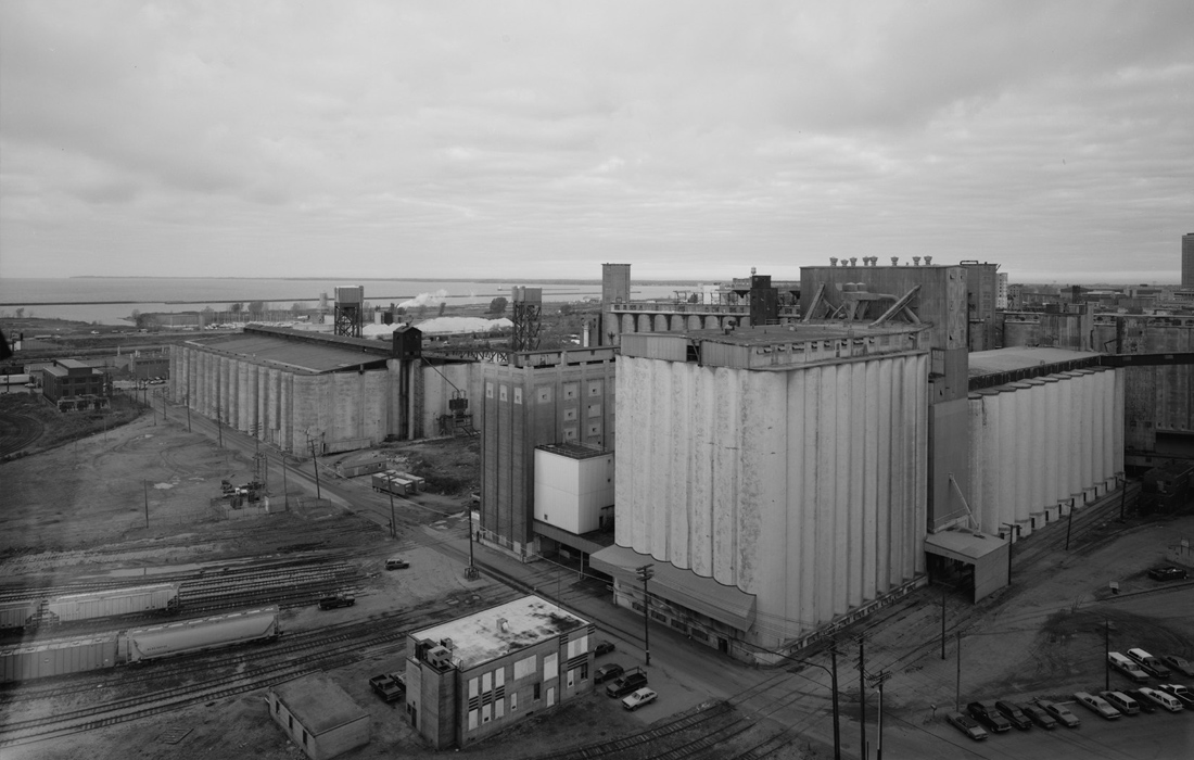 Silo City in Buffalo, NY